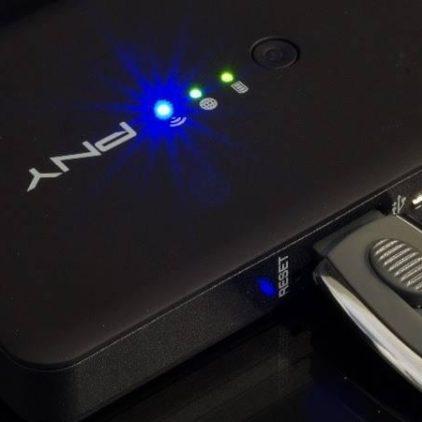 Langaton tallennustila taskussasi – PNY Wireless Media Reader
